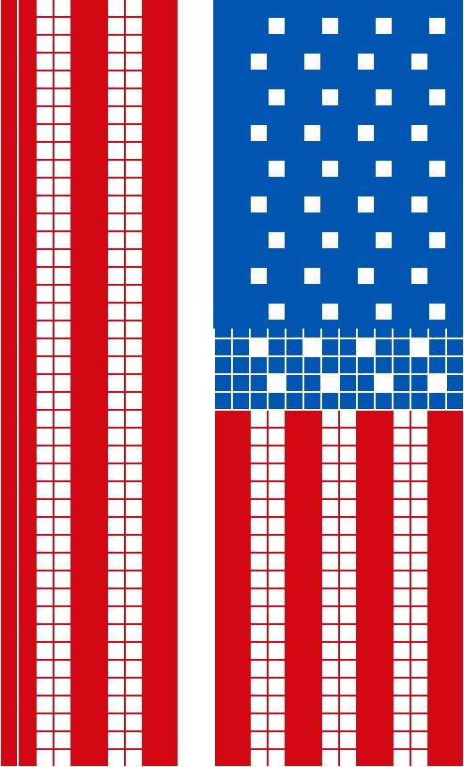 Map Design at Washington DC, USA