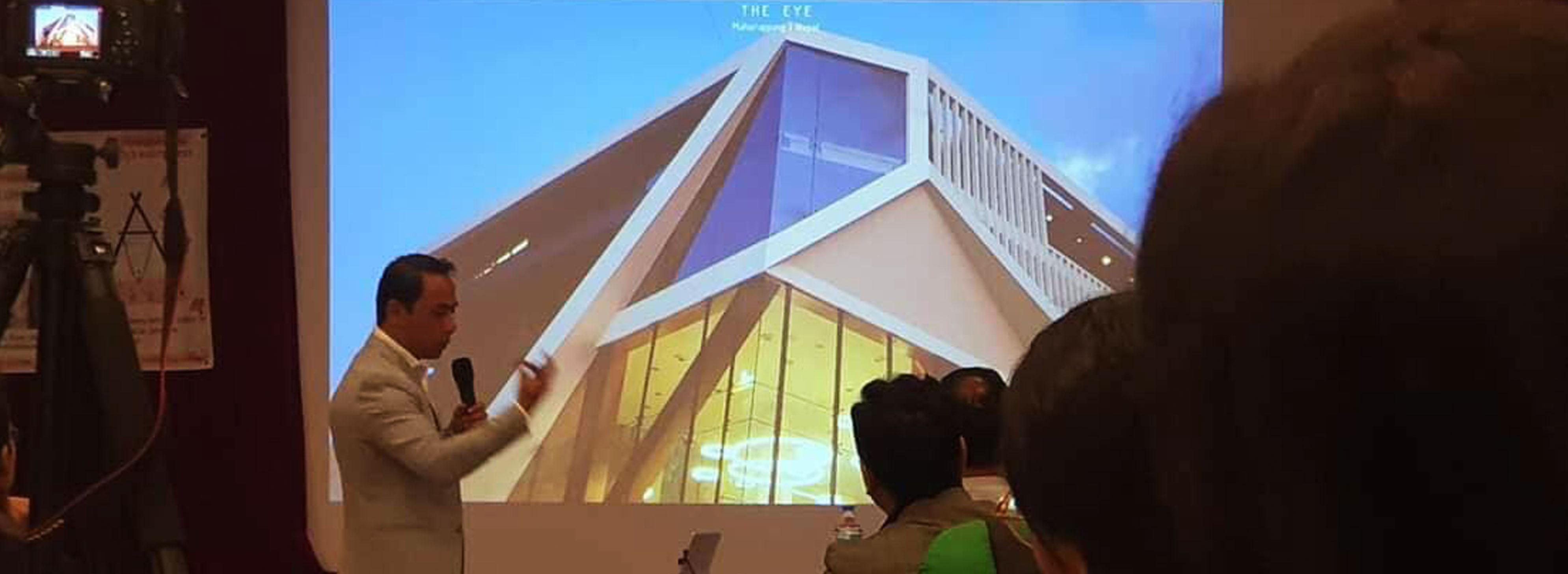 MAP design architecture school architect kiran mathema SONA presentation